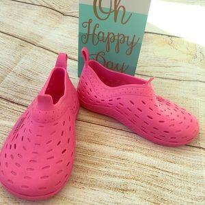 2/$8 Speedo pink water shoe. Size 5/6